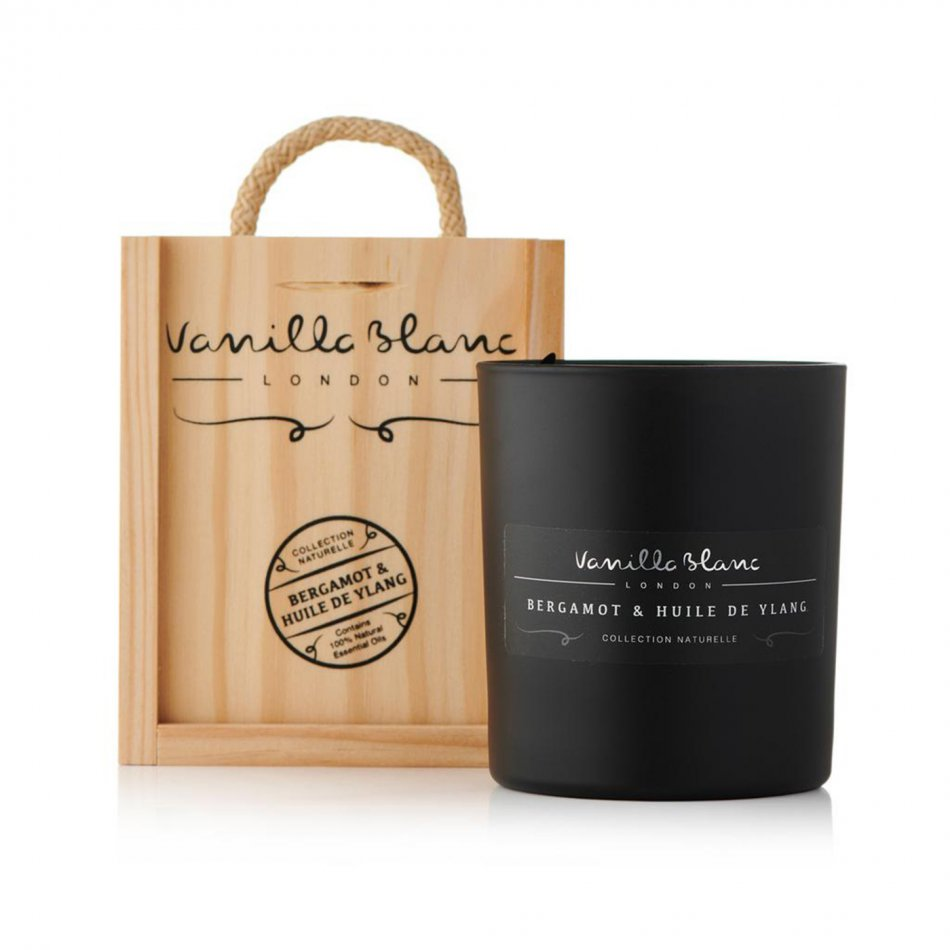 Vanilla Blanc Candle - Bergamot & Huile De Ylang